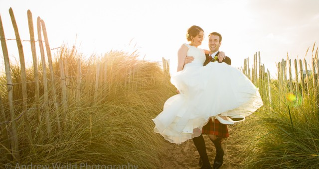 Lana and Stuart's wedding at St Andrews University