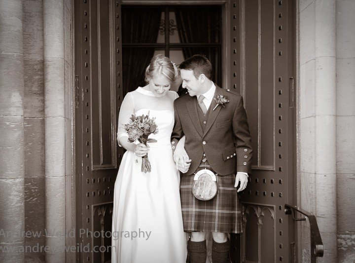 Wedding Photography Fife - Yvonne and Tim