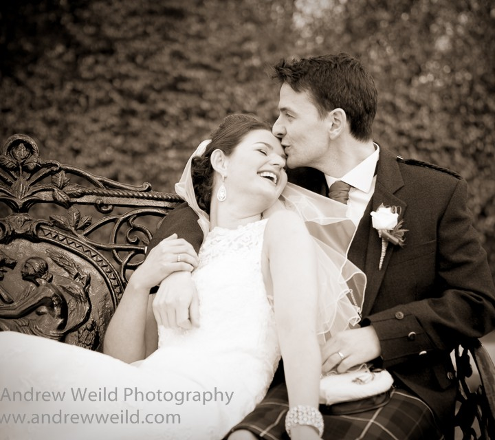 Wedding photography Edinburgh - Eilidh and Alan