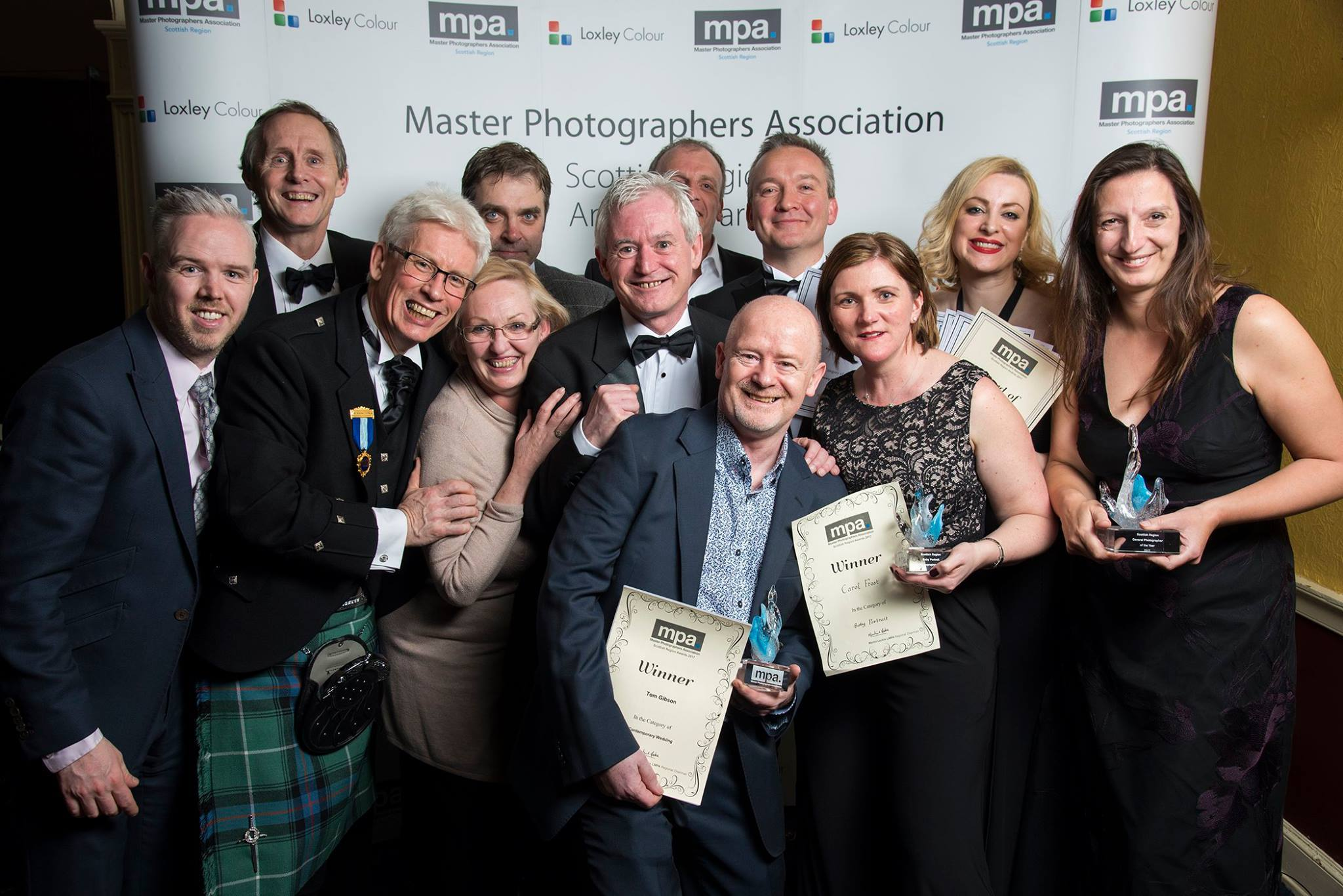 MPA Scotland awards group
