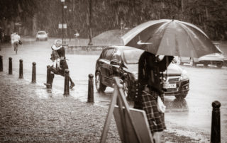 Wedding Photography Scotland Rainy Photo of Wedding Preparations at Callendar House in Falkirk