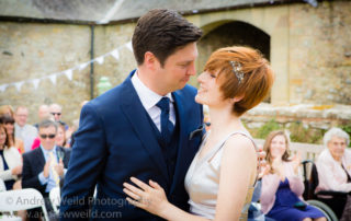 Wedding Photography Scotland Just Married Newlyweds in the Scottish Borders