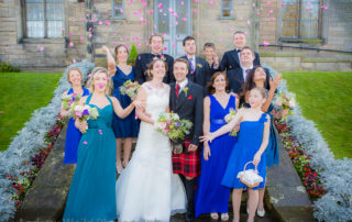 Wedding Photography Scotland St. Andrews Photo After the Ceremony