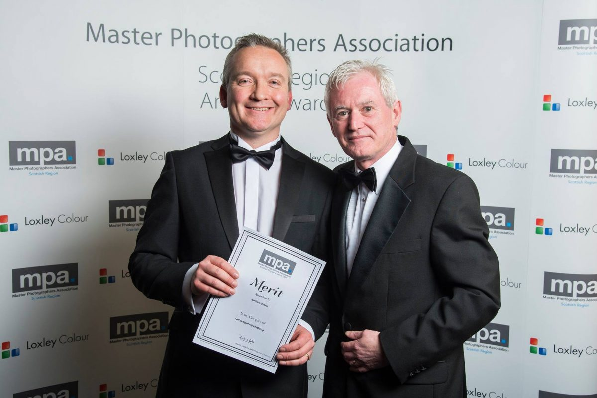 Andrew Weild and Martin Leckie MPA Awards Wedding Photography Scotland