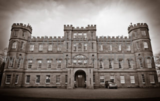 Wedding Photography Scotland Picture of the outside of the Wedderburn Castle