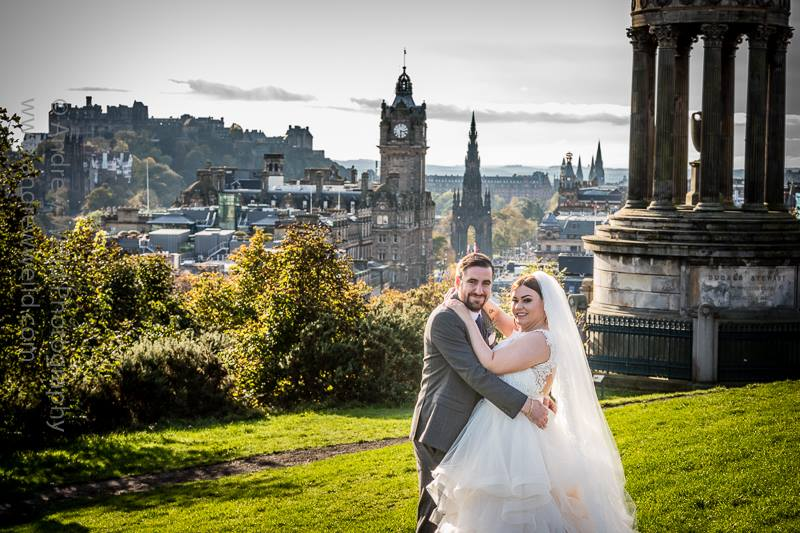 Calton Hill - Wedding Photography Scotland