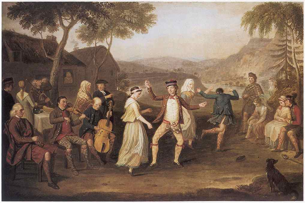 Highland Scottish Wedding in 1780