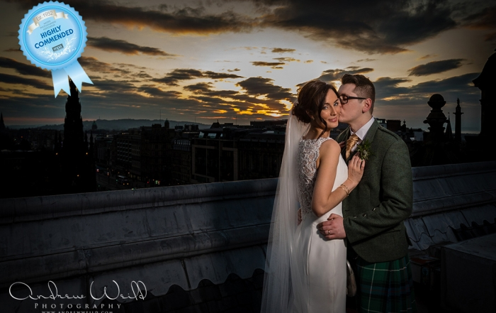 Wedding photography Balmoral Hotel Edinburgh