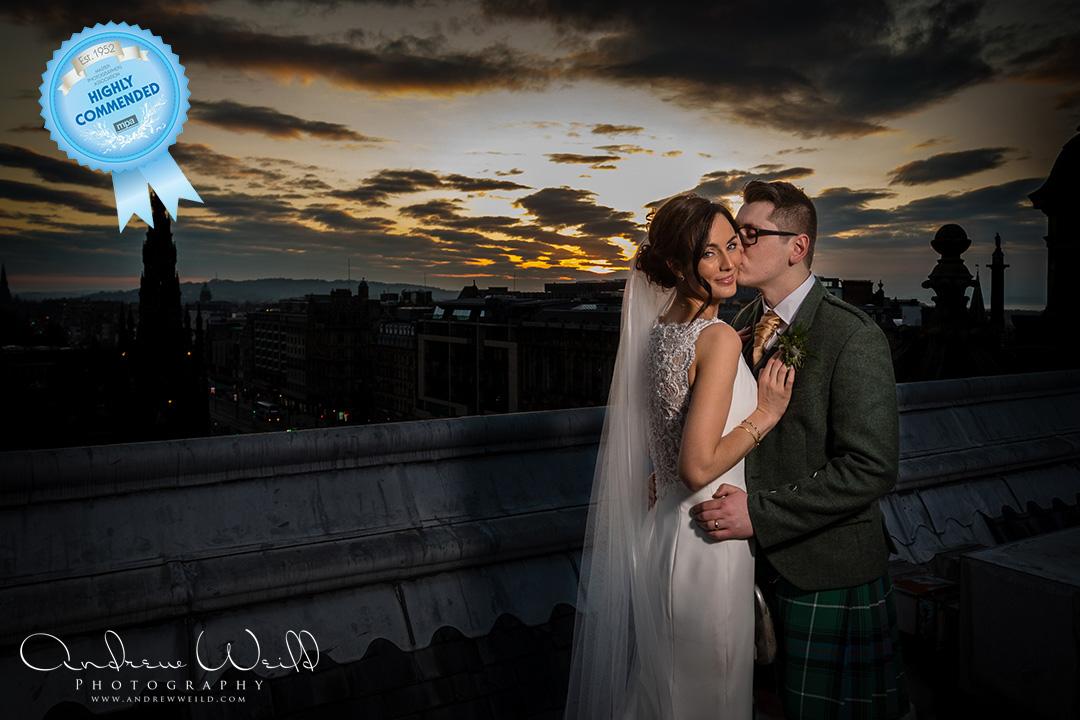 Wedding photography Balmoral Hotel Edinburgh